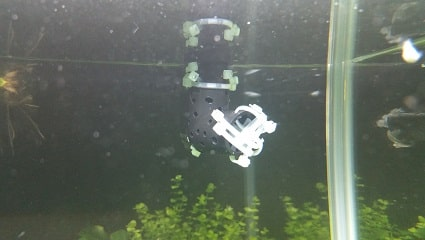 上部フィルターの水流を弱める方法