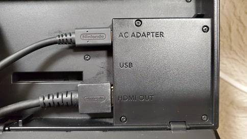 スイッチ有線接続